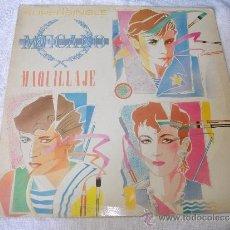 Discos de vinilo: MECANO / MAQUILLAJE / CBS 1985. Lote 38112409