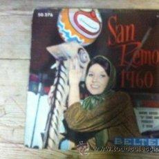 Discos de vinilo: SAN REMO 1960. Lote 38112758
