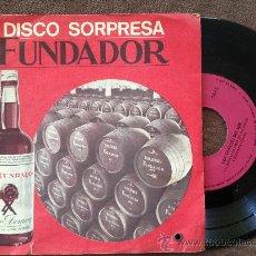 Discos de vinilo: SINGLE LOS GEMELOS DEL SUR CUMBIA MORENA FUNDADOR ESPAÑA VER FOTOS. Lote 38123458
