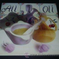 Discos de vinilo: ALL I OLI - CARPETA DOBLE - LP VINILO (EDA, 1981) - FOLK DEL PAÍS VALENCIÀ - BENAGUASIL - MUY RARO. Lote 38123840