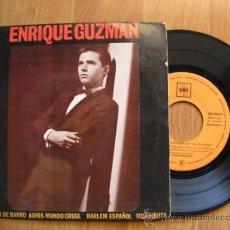 Discos de vinilo: ENRIQUE GUZMAN -EP 1962 +50 EUROS GASTOS ENVIO GRATIS. Lote 38126080