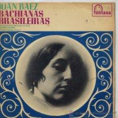 Discos de vinilo: JOAN BAEZ / BACHIANAS BRASILEIRAS Nº 5 / NU BELLO CARDILLO / EL PRESO Nº 9 (EP ORIGINAL INGLES MONO). Lote 38136326