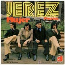 Discos de vinilo: JEREZ (RAMÓN FARRÁN) - MUJER / PASITOS - SG SPAIN 1974 - BASF 01.52-860 (5508). Lote 161028384