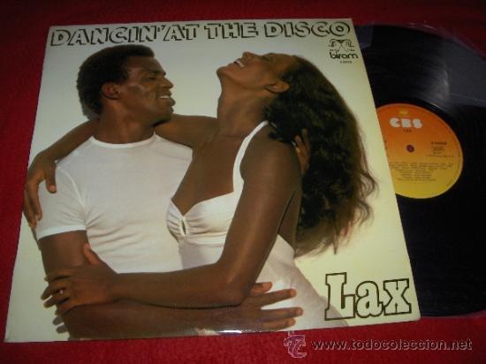 LAX DANCIN AT THE DISCO LP 1979 CBS ED ESPAÑOLA SPAIN (Música - Discos - LP Vinilo - Funk, Soul y Black Music)