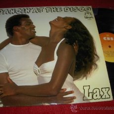 Discos de vinilo: LAX DANCIN AT THE DISCO LP 1979 CBS ED ESPAÑOLA SPAIN. Lote 38151745