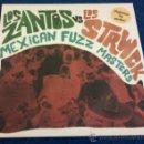 Discos de vinilo: LOS ZANTOS VS LOS STRWCK - MEXICAN FUZZ MASTERS ( LP 2011 ) PSYCH,GARAGE. Lote 111769515