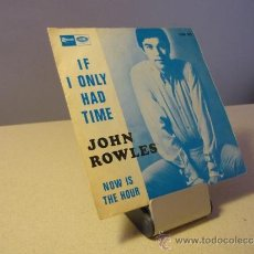 JOHN ROWLES IF I ONLY HAD TIME SINGLE
