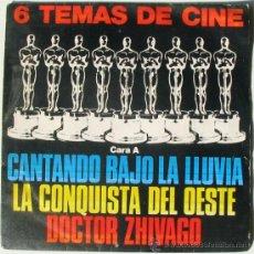 Discos de vinilo: 6 TEMAS DE CINE - DOCTOR ZHIVAGO - 2001 - NACIDA LIBRE - SINGLE BANDA SONORA MGM. Lote 38210531