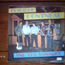 Discos de vinilo: PHILIPPE PONTNEAU AND THE WINNERS - ROCKY TENDANCE + LIKE THE OTHERS (J. M. ECAY- J. ARRABIT). Lote 38196110