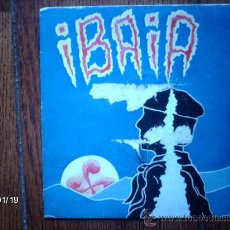 Discos de vinilo: IBAIA - BIHARKO IKARA + IBAIA. Lote 166505657