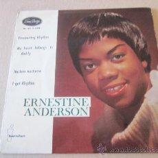Discos de vinilo: ERNESTINE ANDERSON EP FASCINATING RHYTHM EMARCY ESPAÑA 1960. Lote 38188525