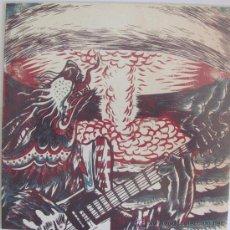 Discos de vinilo: AULLIDO ATOMICO - EP NUMERADO. Lote 126872866