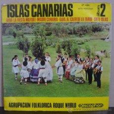 Discos de vinilo: AGRUPACIÓN FOLKLÓRICA ROQUE NUBLO - VIVA LA FIESTA MAYOR +3 - EP DISCOPHON 1966 - SC2. Lote 38193633