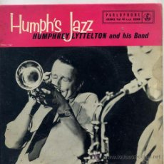 Discos de vinilo: HUMPHREY LYTTELTON AND HIS BAND / FOUR'S COMPANY / SHAKE IT AND BREAK + 2 (EP INGLES). Lote 38195883