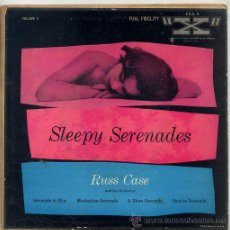 Disques de vinyle: RUSS CASE / SERENADE IN BLUE / MANHATTAN SERENADE / A BLUES SERENADE + 1 (EP USA). Lote 38196041