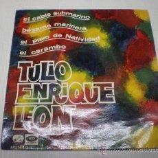 Discos de vinilo: TULIO ENRIQUE LEON-EL CABLE SUBMARINO + 3 - EP -EMI-SPÀIN-AÑO 1966 -1702 2.. Lote 38197858