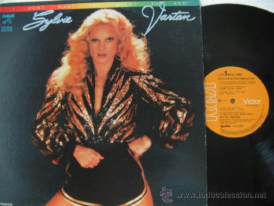 Discos de vinilo: Sylvie Vartan / I dont want the night to end 1979 !! ORIG EDIT !! TODO IMPECABLE - Foto 1 - 38198057