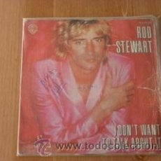 Discos de vinilo: I DON`T WANT TO TALK ABOUTI IT. ROD STEWART, 1975. Lote 38361423