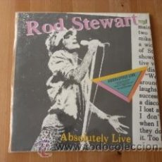 Discos de vinilo: ABSOLUTELY LIVE. ROD STEWART. 1982. DOBLE LP'S. Lote 38363444