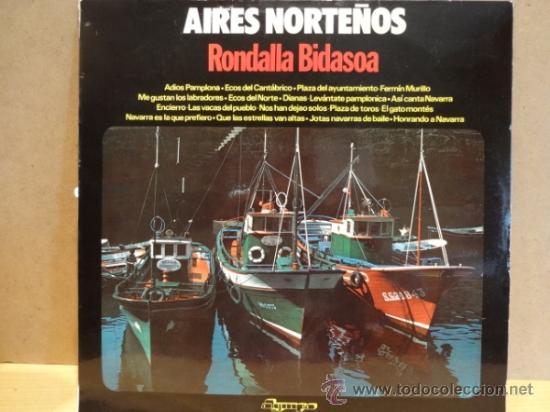 RONDALLA BIDASOA. AIRES NORTEÑOS. LP OLYMPO - 1976. BUENA CALIDAD. ***/*** (Música - Discos - LP Vinilo - Country y Folk)