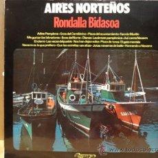 Discos de vinilo: RONDALLA BIDASOA. AIRES NORTEÑOS. LP OLYMPO - 1976. BUENA CALIDAD. ***/***. Lote 38209923