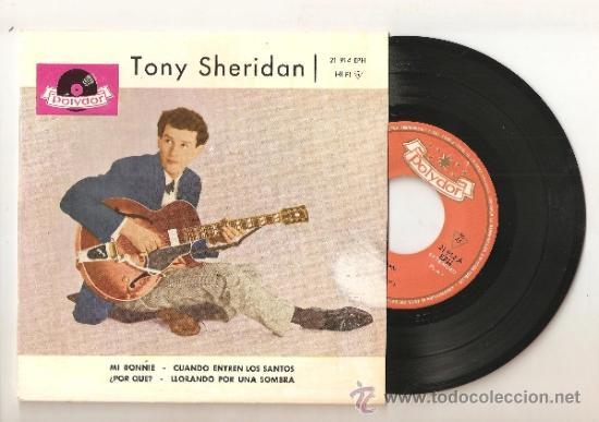 TONY SHERIDAN & THE BEAT BROTHERS - THE BEATLES - ESPAÑA ORIGINAL. (Música - Discos de Vinilo - EPs - Pop - Rock Extranjero de los 50 y 60)