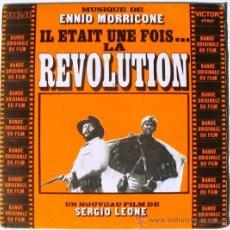 Discos de vinilo: ENNIO MORRICONE - ¡AGÁCHATE, MALDITO! - IL ETAIT UNE FOIS LA REVOLUTION - SINGLE BANDA SONORA - RCA. Lote 38211847