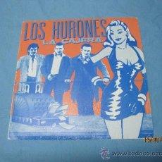 Discos de vinilo: EP SINGLE LOS HURONES LA CAJERA. Lote 38213086