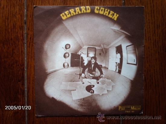 GERARD COHEN - OU VOLENT NOS REVES + TIENS VOILA LA PLUI (Música - Discos - Singles Vinilo - Cantautores Internacionales)