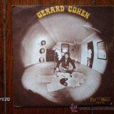 Discos de vinilo: GERARD COHEN - OU VOLENT NOS REVES + TIENS VOILA LA PLUI. Lote 38230505