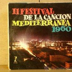 Discos de vinilo: ORQUESTA MARAVELLA - II FESTIVAL DE LA CANCION MEDITERRANEA 1960 - ZAFIRO Z-E 168 - 1960. Lote 38213965