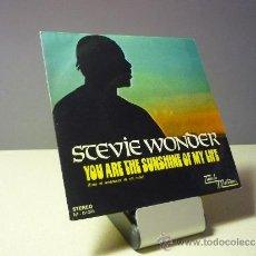 Discos de vinilo: STEVIE WONDER YOU ARE THE SUNSHINE OF MY LIFE SINGLE. Lote 38220980