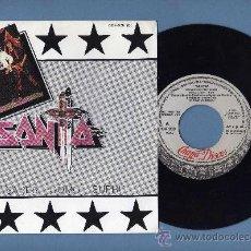 Discos de vinilo: SANTA (NO SABES COMO SUFRI / CORAZON LOCO) SINGLE PROMOCIONAL. Lote 38222514