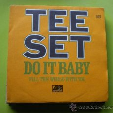 Discos de vinilo: TEE SEYT / DO IT BABY -FILL THE WORLD WHIT YOU SINGLE. Lote 38227533