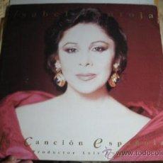 Discos de vinilo: ISABEL PANTOJA - LA CANCIÓN ESPAÑOLA - 2LP EN. Lote 38257216