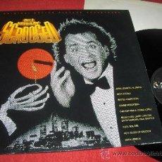 Discos de vinilo: SCROOGED LOS FANTASMAS ATACAN AL JEFE BSO OST LP 1988 A&M RECORDS EDICION ESPAÑOLA SPAIN EX. Lote 38280815