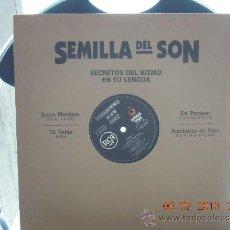 Discos de vinilo: UXV SEMILLA DEL SON MAXI SINGLE AFRO RUMBA MONTUNO GUAGUACO 1992 . Lote 38609983