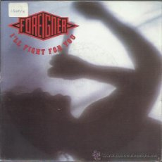 Discos de vinilo: FOREIGNER - I'LL FIGHT FOR YOU / MOMENT OF TRUTH - SINGLE WEA ALEMANIA 1991. Lote 38259294