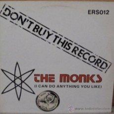Discos de vinilo: THE MONKS - I CAN DO ANYTHING YOU LIKE ENGLAND - EAGLE - 1981. Lote 38268865