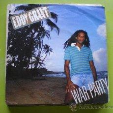 Discos de vinilo: EDDY GRANT - WAR PARTY / SAY I LOVE YOU - SINGLE EPIC 1982. Lote 38271579