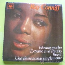 Discos de vinilo: RAY CONNIFF Y SU ORQUESTA - FABULOSO - BÉSAME MUCHO / BRASIL / STRANGER IN PARADISE / - EP CBS 1966. Lote 38272029