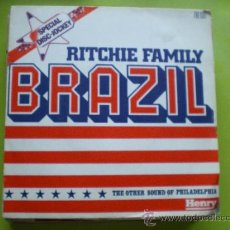 Discos de vinilo: RITCHIE FAMILY. BRAZIL.HOT TRIP SINGLE SPECIAL DISC-JOCKEY SINGLE. Lote 38274980