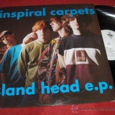 Discos de vinilo: INSPIRAL CARPETS BIGGEST MOUNTAIN/ GOLD TOP +2 12