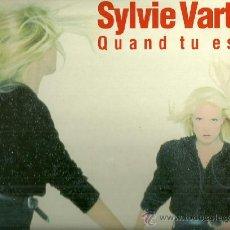 Discos de vinilo: SYLVIE VARTAN MAXI-SINGLE SELLO PHILIPS AÑO 1990 EDITADO EN FRANCIA. Lote 38276629