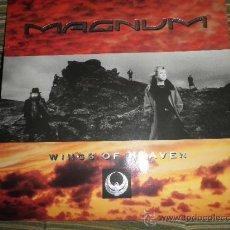 Discos de vinilo: MAGNUM - WINGS OF HEAVEN LP ORIGINAL INGLES - POLYDOR 1988 CON INNER SLEEVE(FUNDA INTERIOR)ORIGINAL. Lote 56953939