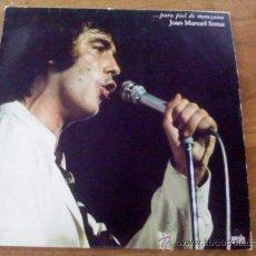 Discos de vinilo: JOAN MANUEL SERRAT . PARA PIEL DE MANZANA.. Lote 38296488