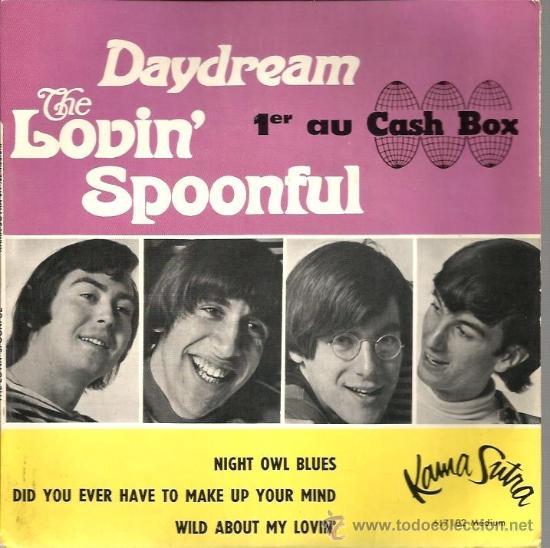 EP THE LOVIN´SPOONFUL : DAYDREAM (Música - Discos de Vinilo - EPs - Pop - Rock Internacional de los 50 y 60)