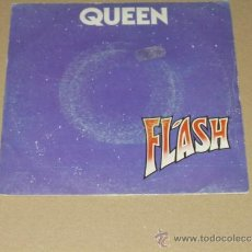 Discos de vinilo: QUEEN SINGLE FLASH BANDA SONORA ORIGINAL FLASH GORDON. Lote 38302698