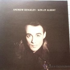 Discos de vinilo: LP ANDREW RIDGELEY-SON OF ALBERT. Lote 38314124