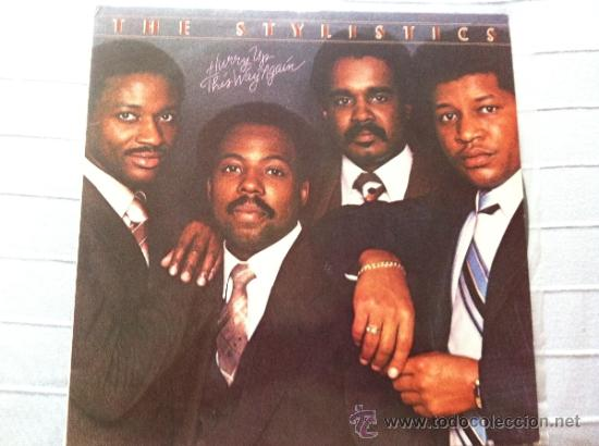CD THE STYLISTICS-HURRY UP THIS WAY AGAIN (Música - Discos - LP Vinilo - Jazz, Jazz-Rock, Blues y R&B)
